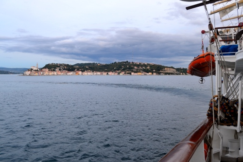Departing Piran