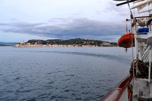 Departing Piran